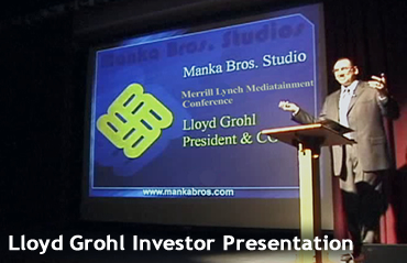 Manka Bros Corporate - Lloyd Grohl Presentation
